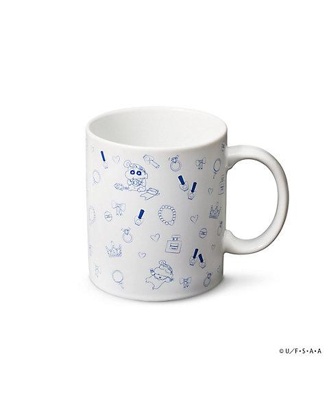三越・伊勢丹オンラインストア<CRAYON STYLE ~Crayon Shinchan Unlimited~> マグカップ(コスメ柄)クレヨンスタイル(CLCR-600) 【三越・伊勢丹/公式】