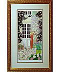 <三越・伊勢丹/公式> <美術品> ジャン・ピエール・カシニョール「藤の花」※額付画像