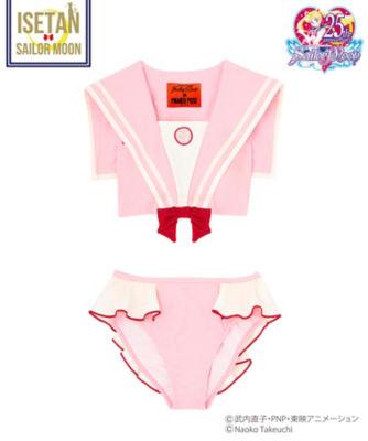 <三越・伊勢丹/公式>【追加予約販売・7月上旬お届け】Pretty Guardian Sailor Moon Bikini (セーラーちびムーン)画像