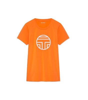 <三越・伊勢丹/公式> LOGO T-SHIRT(17150) オレンジ