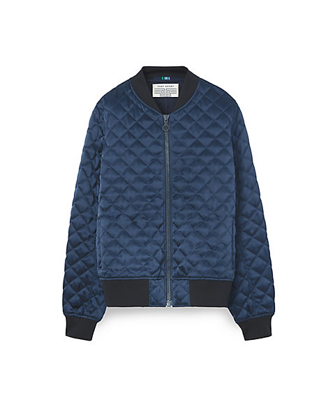 <三越・伊勢丹/公式><TORY SPORT> QUILTED BOMBER JACKET(32147)