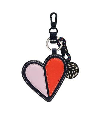 <三越・伊勢丹/公式> HEART KEY FOB(38625) ネービーブルー