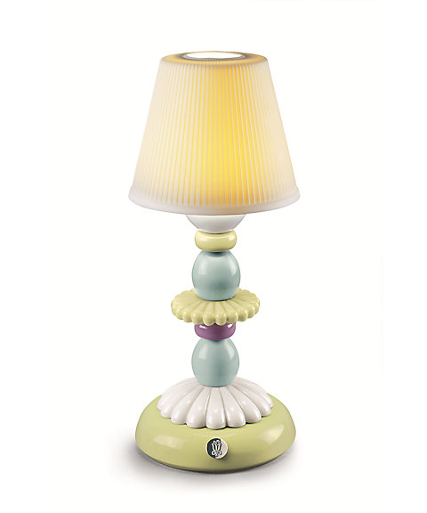 <LLADRO> LOTUS FIREFLY LAMP(GREEN&BLUE)