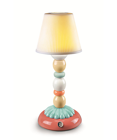 <LLADRO> PALM FIREFLY LAMP(PALE BLUE)
