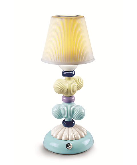 <リヤドロ>CACTUS FIREFLY LAMP(YELLOW&BLUE)