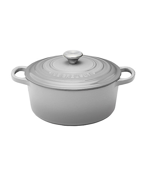 <LE CREUSET> シグニチャー ココット・ロンド ミストグレー