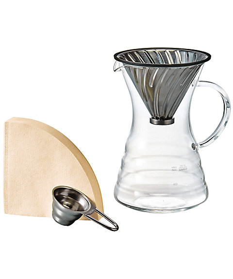 <HARIO>V60 Pour Over Decanter