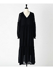 <M BY RIEKA INOUE>CUT&SEWN LONG DRESS(M1801-007-S)