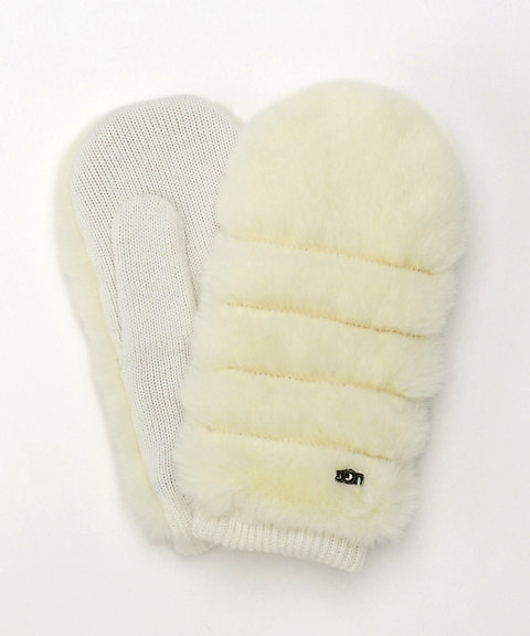<UGG(R)>All Over Faux Fur Mitten(18705BX)