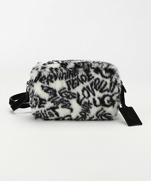 <UGG(R)>Janey Crossbody Faux Fur(1107014)