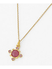 <ANNA SUI>HAPPY COLOR CHARM <MAGENTA> ネックレスセット(SAMJ0030P2+N)