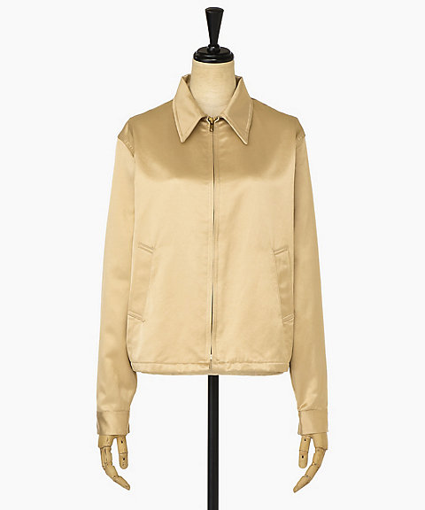 <YOUNG&OLSEN The DRYGOODS STORE>SATIN SWING JACKET