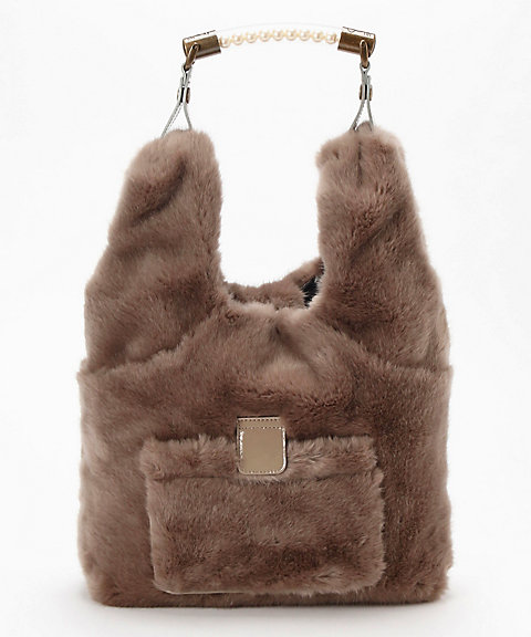 <carnet>Ecofur 2way Bag(CE-1804-150)