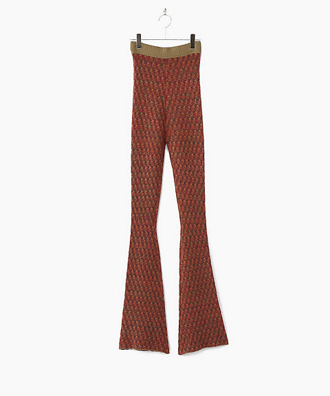 <THE Dallas>jacquard flair pants