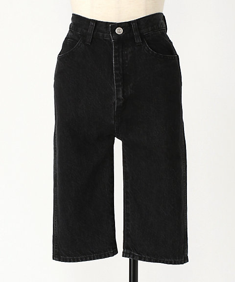 <HOLIDAY>HIGH WAIST SKINNY DENIM PANTS(BLACK)