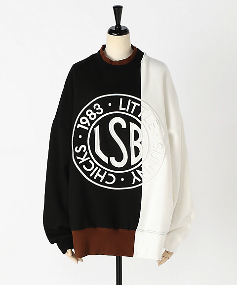 <Little sunny bite>LSB logo sweat top