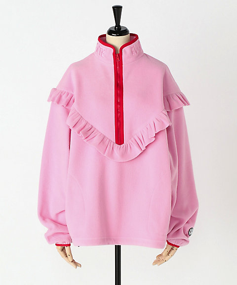 <Little sunny bite>fleece frill top
