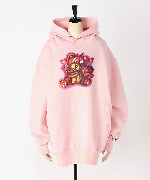 <Little sunny bite>lefthand × little sunnybite graffiti hoodie