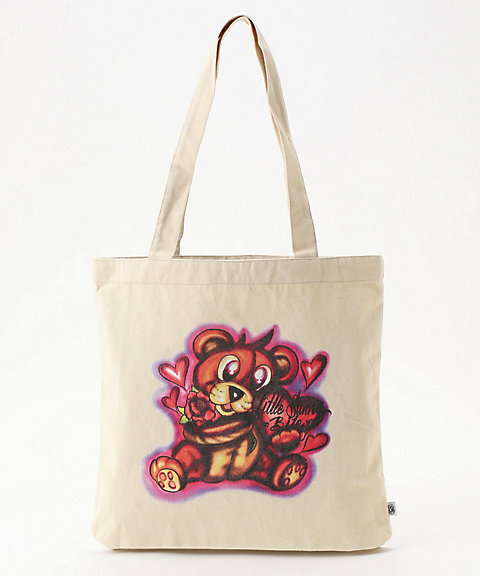 <Little sunny bite>lefthand × little sunnybite graffiti totebag