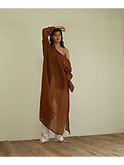 <little $uzie>2way Linen Kaftan Dress(ls112D)