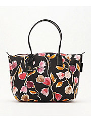 <ロベルタ ピエリ>WATER FLOWER LARGE TOTE (FLOWER4―LT)