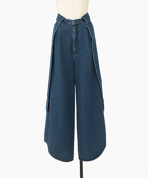 <PONY STONE>DENIM PANTS
