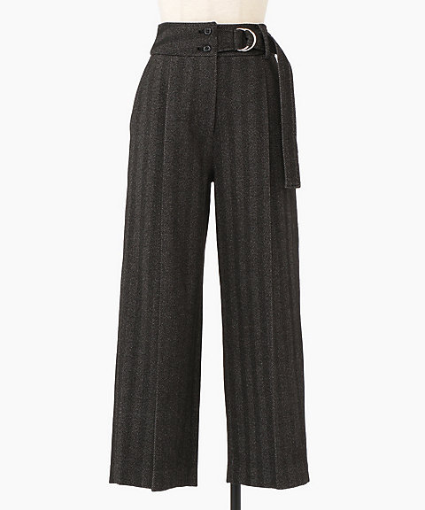<THE IRON>HIGH WAISTED PANTS