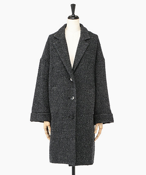 <Couture d adam>COCOON CHESTERFIELD COAT