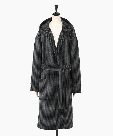<ATON>PATCH POCKET ROBE