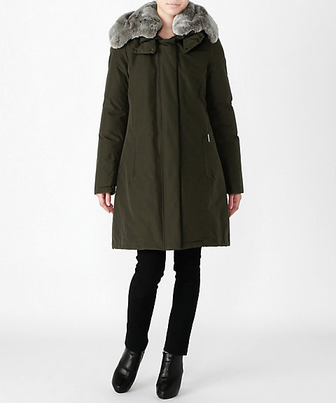 <WOOLRICH>W'S BOW BR(WWCPS2648D)