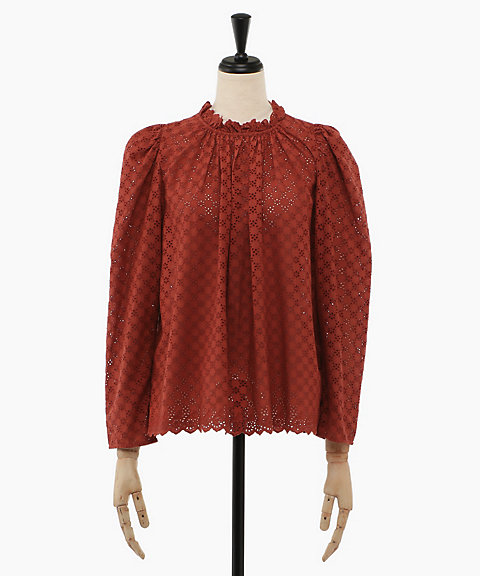 <ULLA JOHNSON>GRACIE BLOUSE