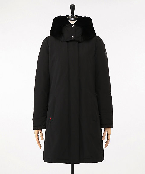 <WOOLRICH(WOMEN)>BOW BRIDGE COAT