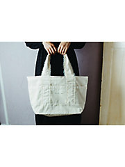 <mille bonheur>millebonheur logo canvas tote bag