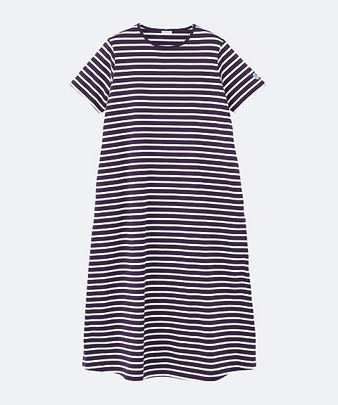 <ORCIVAL>O.40/2 STRIPE ONE PIECE