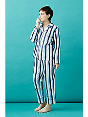 <GOOD NIGHT SUIT (グッドナイトスーツ)>WIDE BLUE STRIPE PAJAMAS(0010)