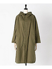 <BUCOLIC & FROLIC>HOODED COAT(NHT1701CL)