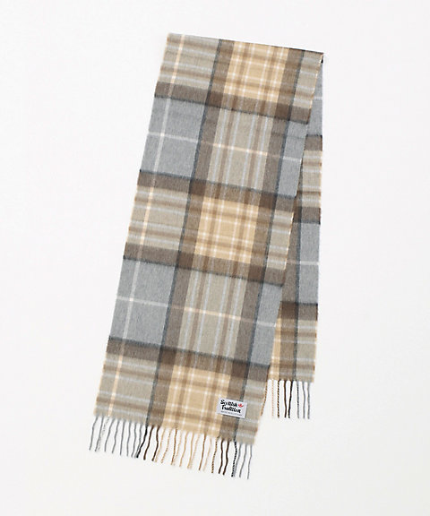 <SCOTTISH TRADITION>WOVEN SCARF
