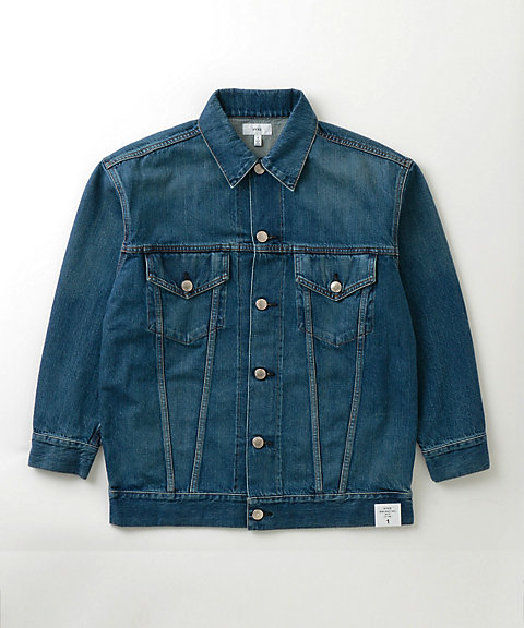<HYKE>DENIM JACKET TYPE3/BIG FIT(17107)