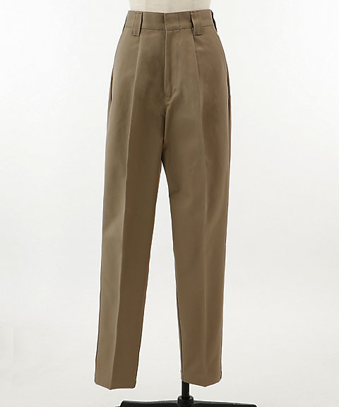 <HYKE>TAPERED WORK PANTS(13120)