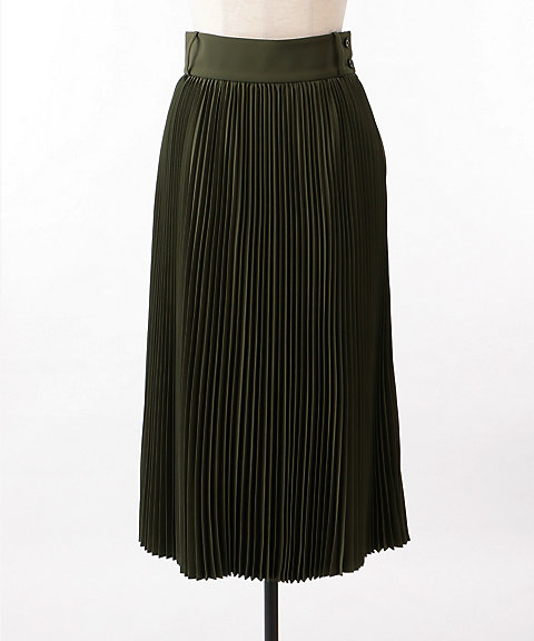 <HYKE>PLEATED SKIRT(14043 exclusive)