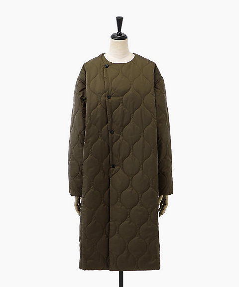 <HYKE>QUILTED COAT(17128)