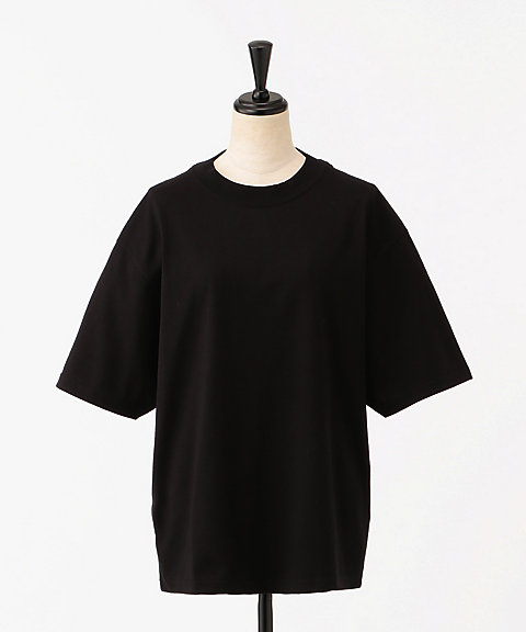 <HYKE>SHORT-SLV TEE/BIG FIT(12189)