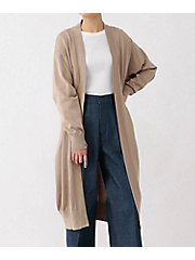 <HYKE>COTTON LONG CARDIGAN(11164)