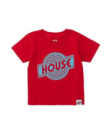 <TEG TEG> HOUSE Enban TEE(KIDS)