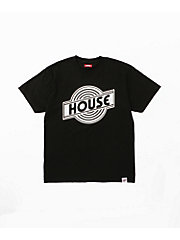 <TEG TEG>HOUSE Enban TEE(MENS)