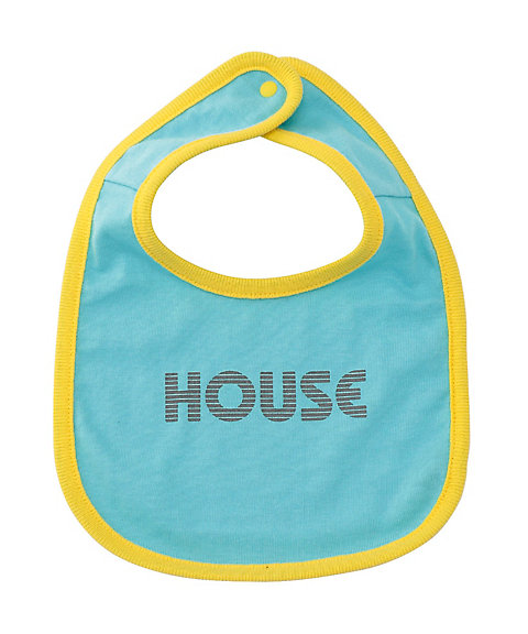 <IN THE HOUSE> HOUSE BABY BIB