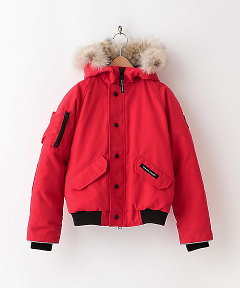 <CANADA GOOSE(KIDS)> ブルゾン 7995Y RUNDLE BOMBER(KIDS)