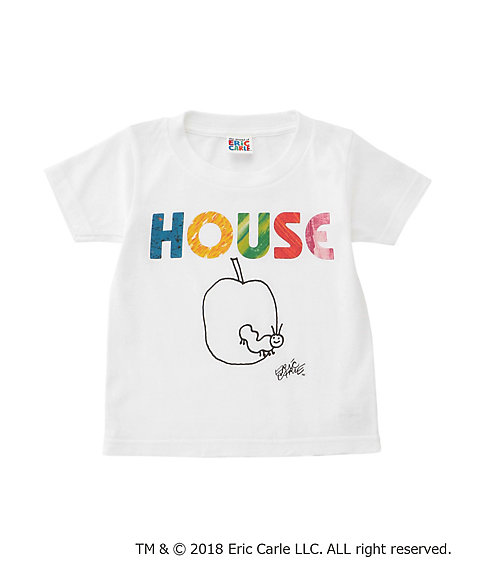 "<IN THE HOUSE> HOUSE ""The Very Hungry Caterpillar"" KIDS TEE(A)"