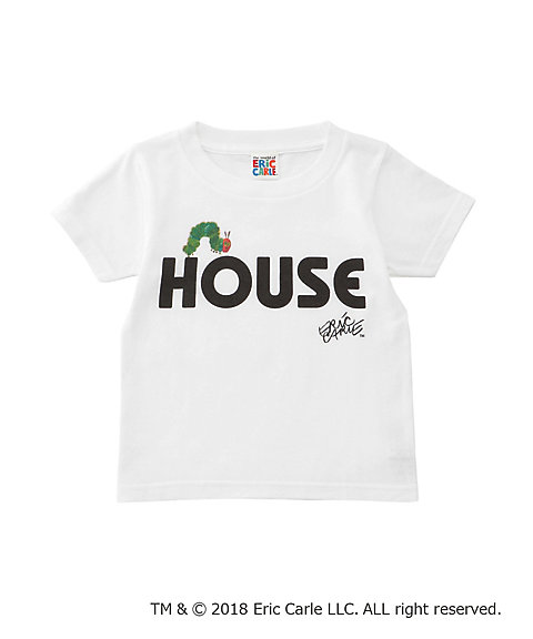 "<IN THE HOUSE> HOUSE ""The Very Hungry Caterpillar"" KIDS TEE(B)"