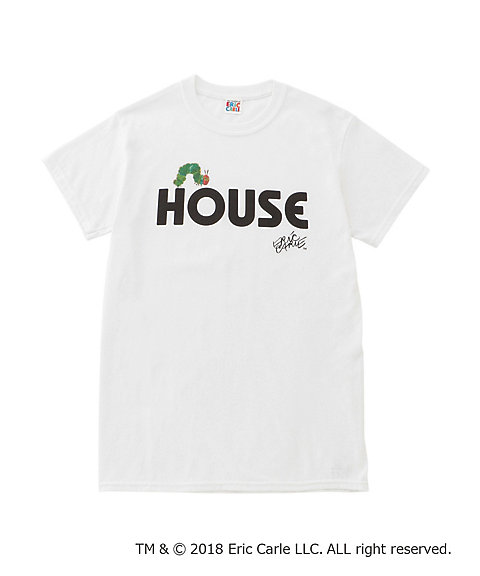"<IN THE HOUSE> HOUSE ""The Very Hungry Caterpillar"" TEE(B)"